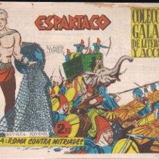 Tebeos: ESPARTACO Nº 4: ROMA CONTRA MITRIADES. Lote 206127371