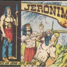 Tebeos: JERONIMO Nº 1: NACE UN GRAN JEFE APACHE. Lote 209237943