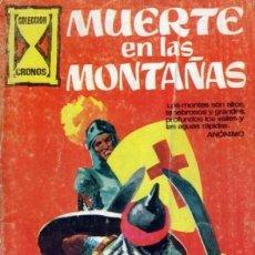Giornalini: COLECCIÓN CRONOS-GALAOR- Nº 4 -MUERTE EN LAS MONTAÑAS-1967-GRAN JESÚS DURÁN-DIFÍCIL-BUENO-LEAN-3705. Lote 209695336