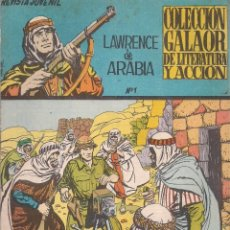 Tebeos: LAWRENCE DE ARABIA Nº 1, EDICIONES GALAOR, 1965. Lote 210106625