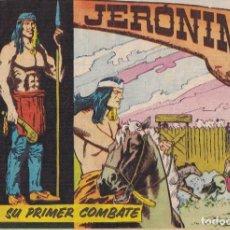 Tebeos: JERONIMO: Nº 3 SU PRIMER COMBATE : EDICIONES GALAOR. Lote 210285400