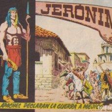 Tebeos: JERONIMO: Nº 7 LOS APACHES DECLARAN LA GUERRA A MEJICO : EDICIONES GALAOR. Lote 210286095