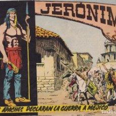 Tebeos: JERONIMO: Nº 7 LOS APACHES DECLARAN LA GUERRA A MEJICO : EDICIONES GALAOR. Lote 210286423