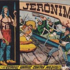 Tebeos: JERONIMO: Nº 8 1847 ESTADOS UNIDOS CONTRA MEJICO : EDICIONES GALAOR. Lote 210303991