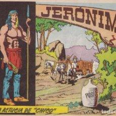 """Tebeos: JERONIMO: Nº9 LA ASTUCIA DE """"CHICO"""" : EDICIONES GALAOR. Lote 210304172"""