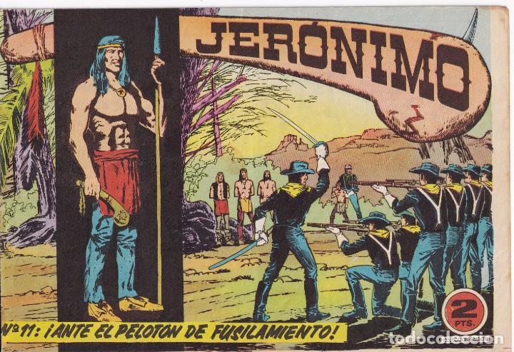 JERONIMO: Nº 11 ANTE EL PELOTON DE FUSILAMIENTO : EDICIONES GALAOR (Tebeos y Comics - Galaor)