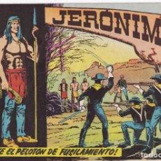 Tebeos: JERONIMO: Nº 11 ANTE EL PELOTON DE FUSILAMIENTO : EDICIONES GALAOR. Lote 210304570