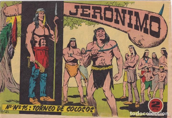 JERONIMO: Nº 16 TORNEO DE COLOSOS : EDICIONES GALAOR (Tebeos y Comics - Galaor)