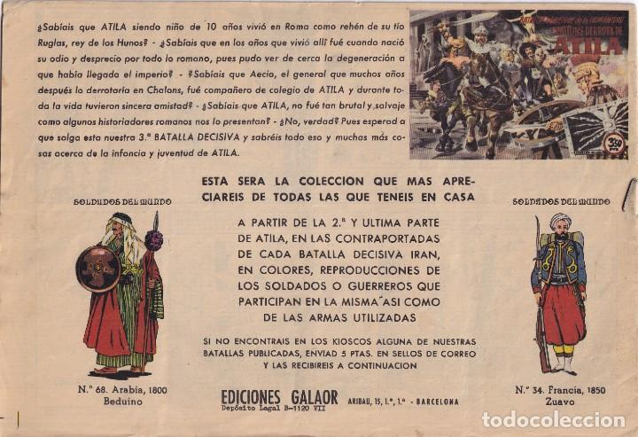 Tebeos: JERONIMO: Nº 16 TORNEO DE COLOSOS : EDICIONES GALAOR - Foto 2 - 210306368