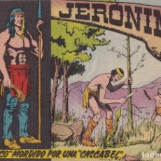 """Tebeos: JERONIMO: Nº 17 """"CHICO"""" MORDIDO POR UNA """"CASCABEL"""" : EDICIONES GALAOR. Lote 210343280"""