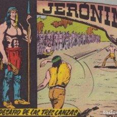 Tebeos: JERONIMO: Nº 18 EL DESAFIO DE LAS TRES LANZAS : EDICIONES GALAOR. Lote 210343381