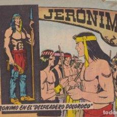 """Tebeos: JERONIMO: Nº 22 JERONIMO EN EL """"DESFILADERO DOLOROSO"""" : EDICIONES GALAOR. Lote 210343990"""