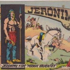 """Tebeos: JERONIMO: Nº 23 JERONIMO Y LOS """"PERROS VALIENTES """" : EDICIONES GALAOR. Lote 210344133"""