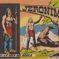 Tebeos: JERONIMO: Nº 24 LA CAZA DEL AGUILA : EDICIONES GALAOR. Lote 210344293