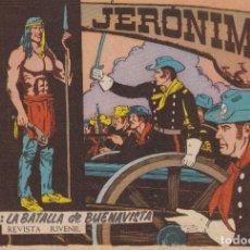 Tebeos: JERONIMO: Nº 26 LA BATALLA DE BUENAVISTA : EDICIONES GALAOR. Lote 210344486