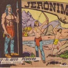 Tebeos: JERONIMO: Nº 27 EL ARCO PEDRERO : EDICIONES GALAOR. Lote 210344770