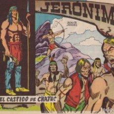 Tebeos: JERONIMO: Nº 29 EL CASTIGO DE CHATUCH : EDICIONES GALAOR. Lote 210355570