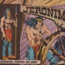 Tebeos: JERONIMO: Nº 40 JERONIMO, TIMONEL DEL RAYO : EDICIONES GALAOR. Lote 210377921