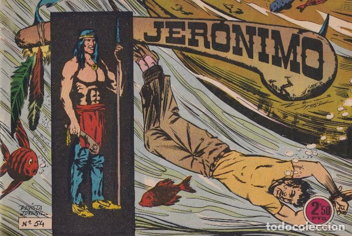 JERONIMO: Nº 54 : EDICIONES GALAOR (Tebeos y Comics - Galaor)