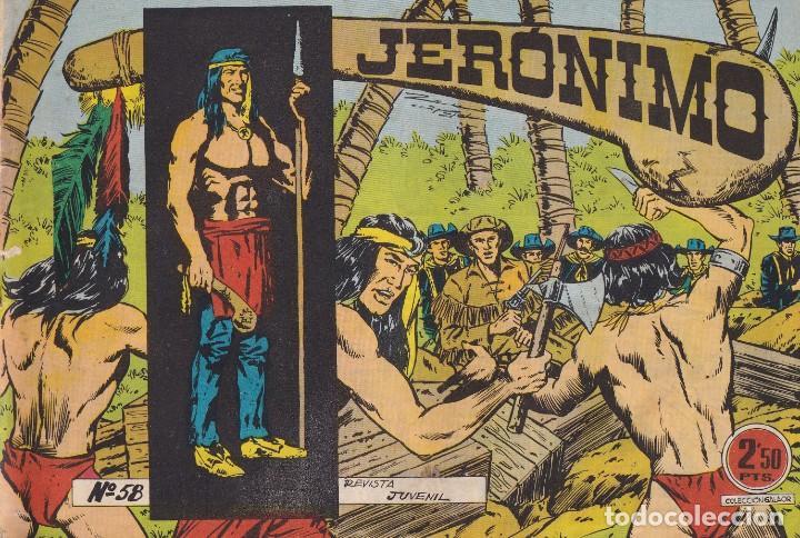 JERONIMO: Nº 58 : EDICIONES GALAOR (Tebeos y Comics - Galaor)