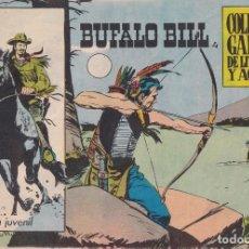 Giornalini: BUFALO BILL: Nº 4 : EDICIONES GALAOR. Lote 210715994