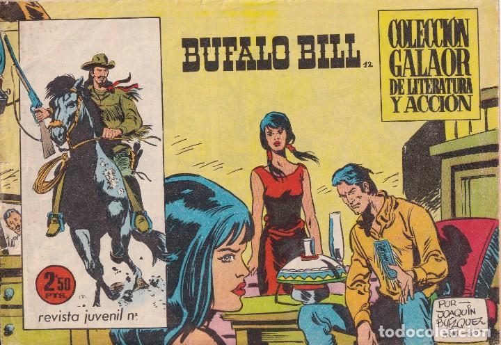 BUFALO BILL: NUMERO 12 , EDITORIAL GALAOR (Tebeos y Comics - Galaor)