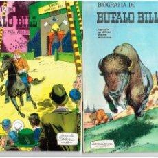 Tebeos: * BIOGRAFÍA DE BUFALO BILL - JOAQUÍN BLÁZQUEZ - EDICIONES GALAOR, 1968 - LOTE Nº 4 / 5 IMPECABLES *. Lote 213109182