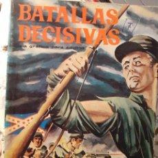 Tebeos: BATALLAS DECISIVAS-GALAOR- Nº 10 - GETTYSBURG-1968GRAN JOAQUIM BUDESCA-ÚNICO EN TC-LEAN-3981. Lote 213110886