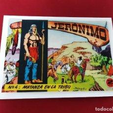 Tebeos: JERONIMO Nº 4 -ORIGINAL-EXCELENTE ESTADO. Lote 213792100