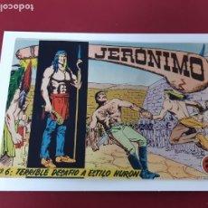 Tebeos: JERONIMO Nº 6 -ORIGINAL-EXCELENTE ESTADO. Lote 213792252