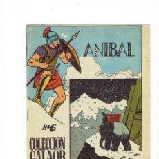 Tebeos: * ANIBAL NÚMERO 6 COLECCIÓN GALAOR DE LITERATURA Y ACCIÓN * ORIGINAL 1966 *. Lote 213816518