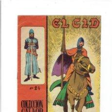 Giornalini: * EL CID Nº 24 ORIGINAL * EDITORIAL GALAOR 1965 *. Lote 213817338
