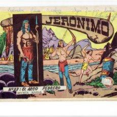 Tebeos: * JERONIMO: Nº 27 EL ARCO PEDRERO * EDICIONES GALAOR 1964 *. Lote 213818296