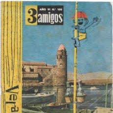 Tebeos: TRES 3 AMIGOS Nº 126 ÚLTIMO DE LA COLECCIÓN, PPC 1956 - LEER DESCRIPCION Y VER FOTOS. Lote 214335086
