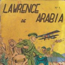 """Giornalini: CÓMIC """"LAWRENCE DE ARÁBIA"""" Nº 1 ED. GALAOR (FORMATO CUARTILLA DIN-A5) 50PGS. 1968. Lote 215820125"""