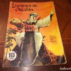 Tebeos: LAWRENCE DE ARABIA. COLECCIÓN GALAOR DE LITERATURA Y ACCIÓN, 1.965. Lote 218610882