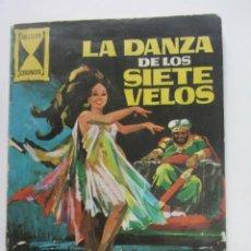 Tebeos: COLECCIÓN CRONOS- Nº LA DANZA DE LOS SIETE VELOS GALAOR CX73. Lote 220781866