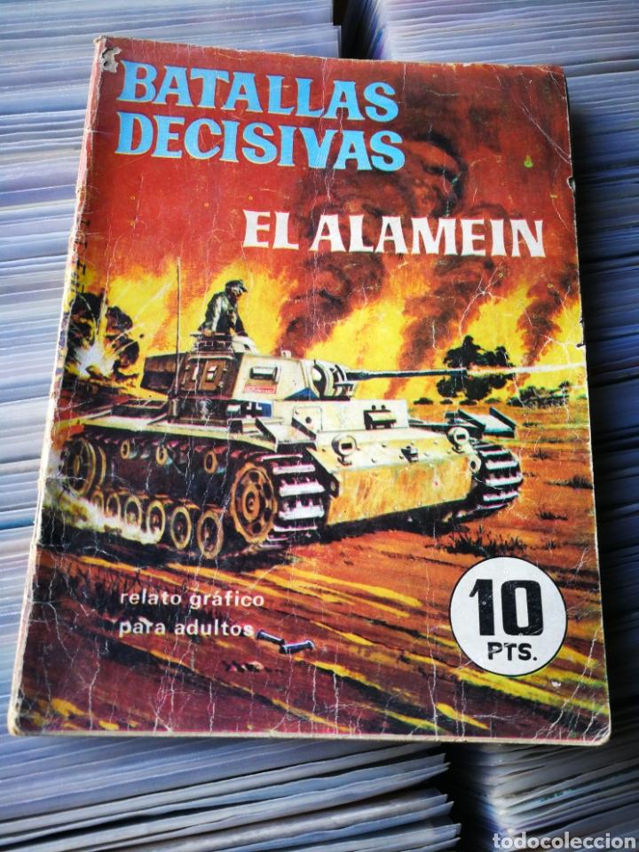 EL ALAMEIN, BATALLAS DECISIVAS- EDICIONES GALAOR. (Tebeos y Comics - Galaor)