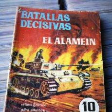 Giornalini: EL ALAMEIN, BATALLAS DECISIVAS- EDICIONES GALAOR.. Lote 222876828