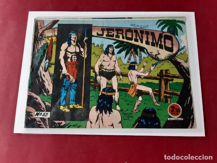 JERONIMO N° 55 -ORIGINAL (Tebeos y Comics - Galaor)