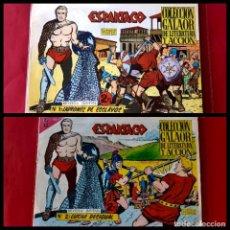 Tebeos: ESPARTACO - Nº 1 Y 2 - ORIGINALES - EDICIONES GALAOR - AÑO 1964 - EXCELENTE ESTADO. Lote 225774560