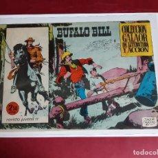 Tebeos: BUFALO BILL Nº 1 EDITORIAL GALAOR-ORIGINAL -EXCELENTE ESTADO. Lote 227573792