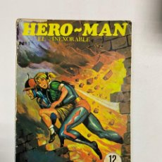Tebeos: HERO MAN. EL INEXORABLE. Nº 1. NOVELA GRAFICA PARA ADULTOS. EDICIONES GALAOR. 1968.. Lote 232487713