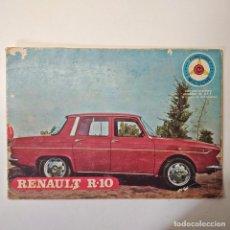 Tebeos: RENAULT R-10. AVENTURA DE ALF, FUTURO AS DEL VOLANTE. COLECCIÓN MICOCHE. EDICIONES GALAOR. 1970.. Lote 237545120