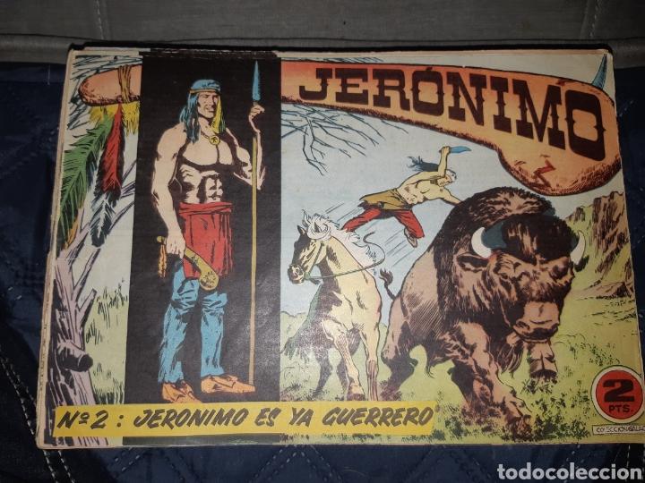 Tebeos: TEBEOS-COMICS GOYO - JERÓNIMO COMPLETA - GALAOR ORIGINAL - INCLUYE EL 66 NO PUBLICADO - AA99 - Foto 3 - 237740160
