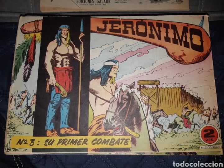 Tebeos: TEBEOS-COMICS GOYO - JERÓNIMO COMPLETA - GALAOR ORIGINAL - INCLUYE EL 66 NO PUBLICADO - AA99 - Foto 4 - 237740160