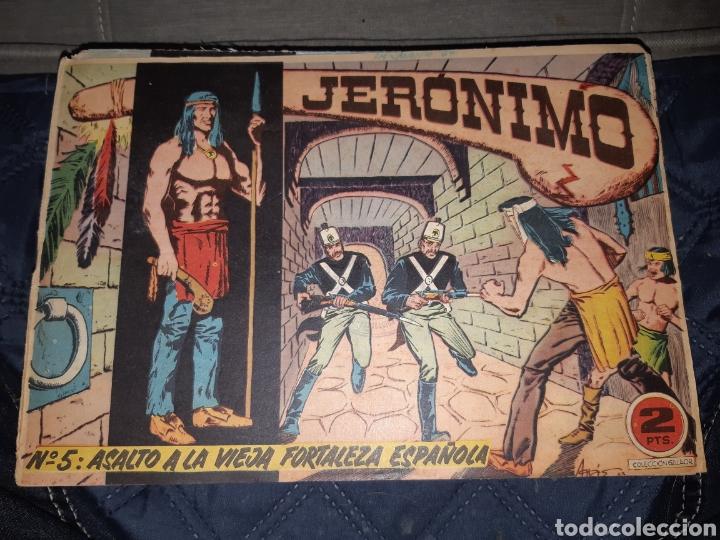 Tebeos: TEBEOS-COMICS GOYO - JERÓNIMO COMPLETA - GALAOR ORIGINAL - INCLUYE EL 66 NO PUBLICADO - AA99 - Foto 6 - 237740160