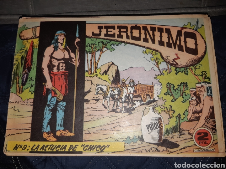 Tebeos: TEBEOS-COMICS GOYO - JERÓNIMO COMPLETA - GALAOR ORIGINAL - INCLUYE EL 66 NO PUBLICADO - AA99 - Foto 10 - 237740160