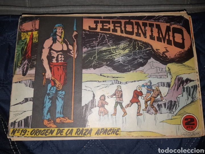 Tebeos: TEBEOS-COMICS GOYO - JERÓNIMO COMPLETA - GALAOR ORIGINAL - INCLUYE EL 66 NO PUBLICADO - AA99 - Foto 20 - 237740160