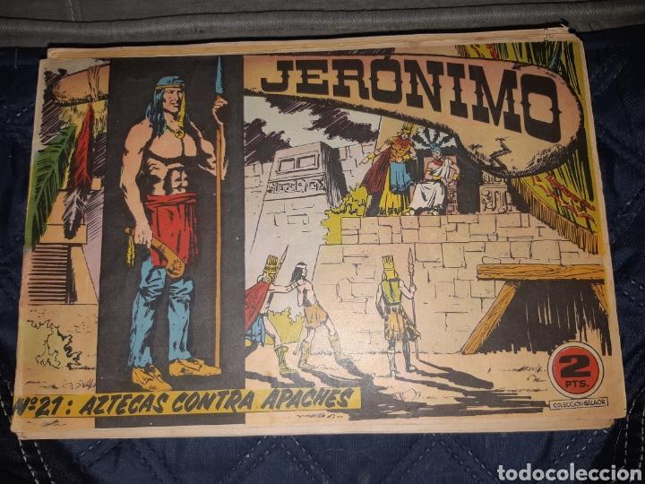 Tebeos: TEBEOS-COMICS GOYO - JERÓNIMO COMPLETA - GALAOR ORIGINAL - INCLUYE EL 66 NO PUBLICADO - AA99 - Foto 22 - 237740160